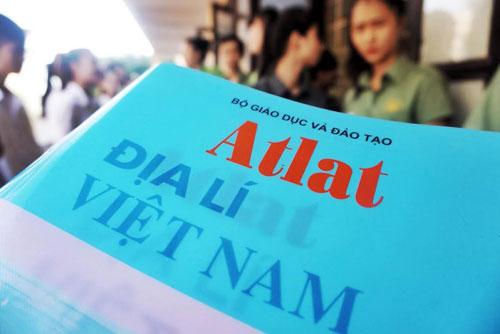 Sử dụng hiệu quả atlat địa lý Việt Nam