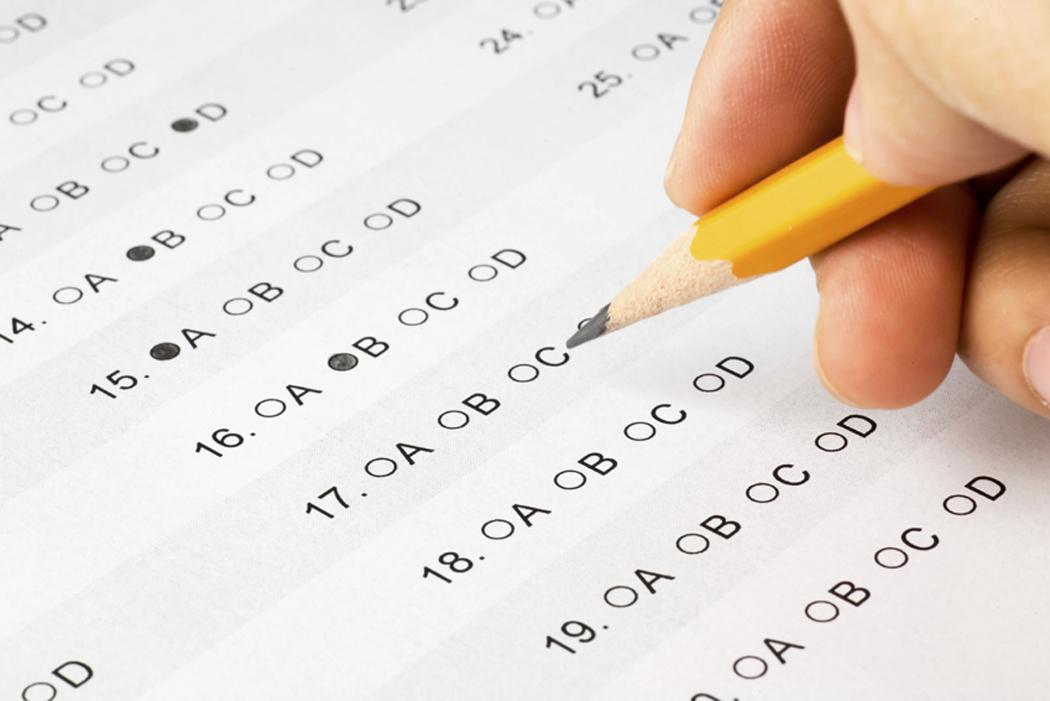Không kiểm tra đề thi và quên điền thông tin cá nhân