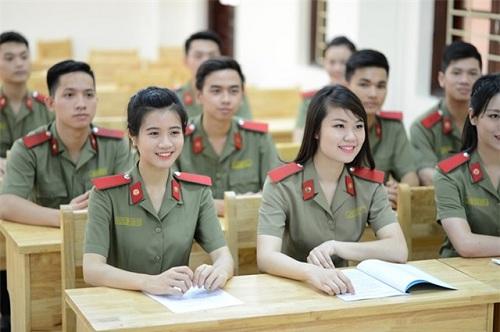 Tuyển sinh vào các trường Công an năm 2017