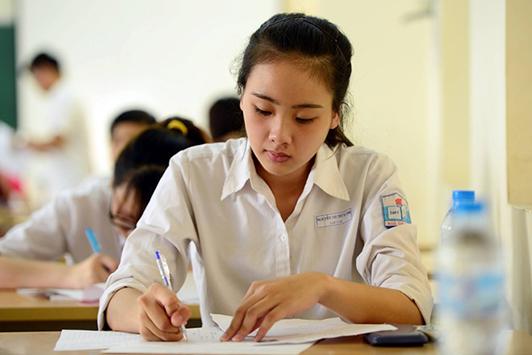 Khi làm bài thi trắc nghiệm cần sử dụng bút chì