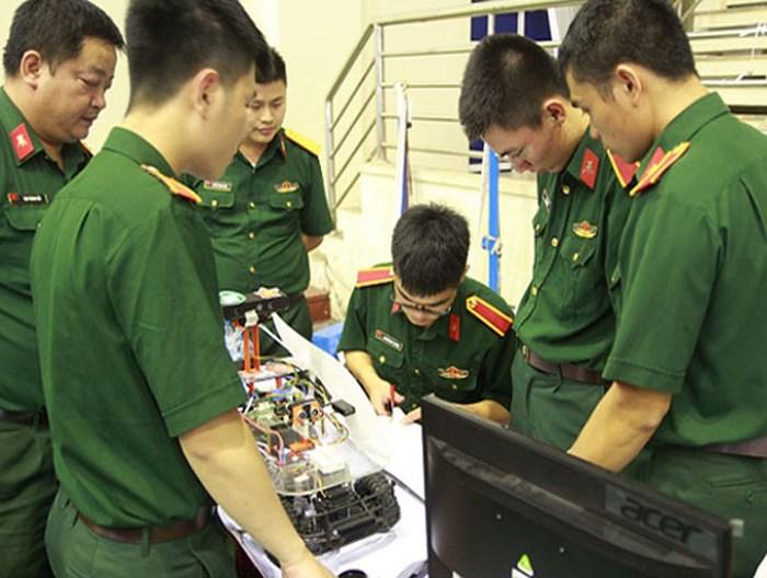 Chỉ tiêu tuyển sinh Học viện Kỹ thuật Quân sự năm 2018