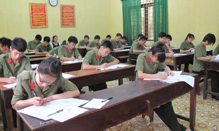 Đối tượng, tiêu chuẩn xét tuyển vào Trường Văn hóa I – Bộ Công an