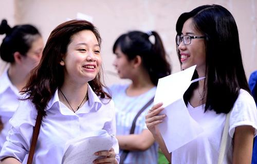 Thí sinh tham dự kỳ thi THPT quốc gia