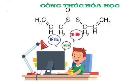 công thức hóa học, gia sư bách khoa