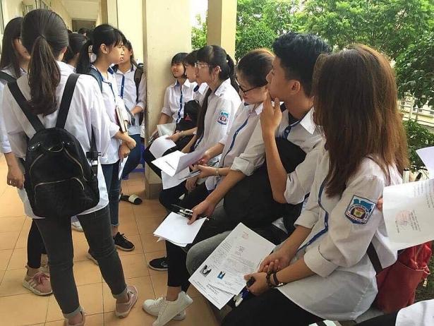 Kỳ thi THPT Quốc gia năm 2018 đã chính thức diễn ra