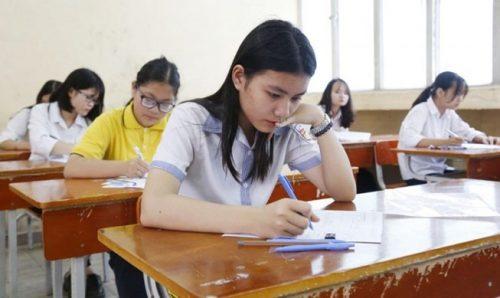 Chiều nay thí sinh tại Hà Nội sẽ bắt tay vào thi môn Toán