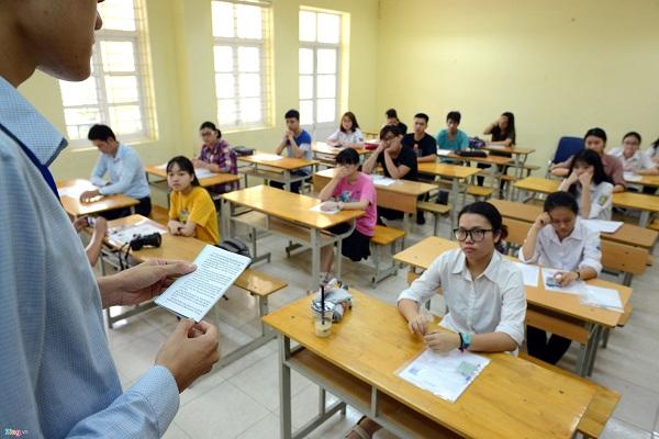 Hơn 900.000 thí sinh tham dự kỳ thi THPT quốc gia năm 2018