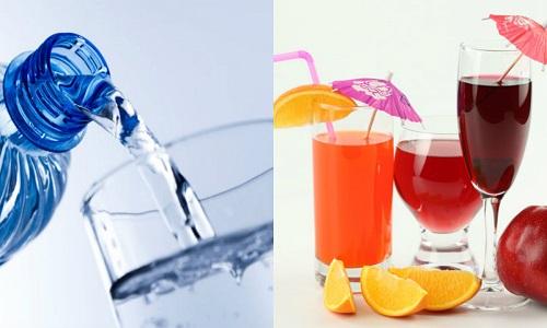 Uống đủ nước để đảm bảo sức khỏe tốt nhất mùa thi