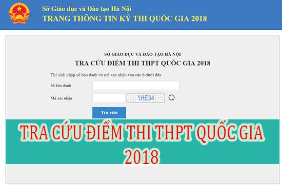 Nhiều địa phương công bố điểm thi THPT Quốc gia 2018 ngay trong đêm