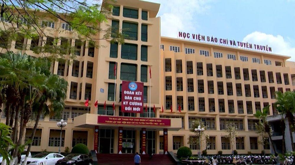 Học viện Báo chí và Tuyên truyền công bố điểm sàn xét tuyển năm 2018