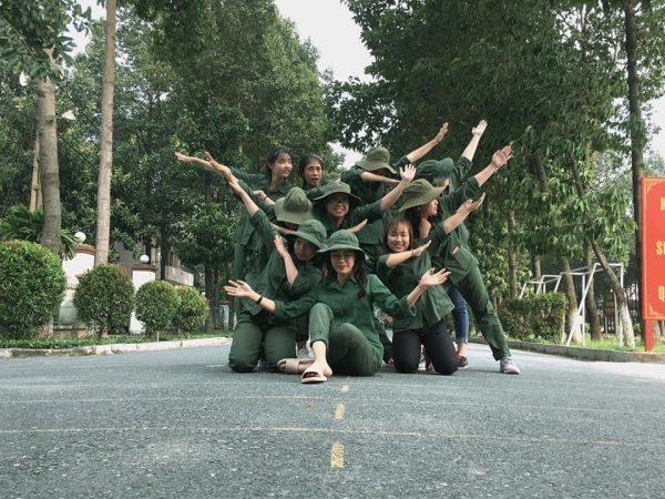 Học quân sự mang lại cho sinh viên nhiều kỷ niệm đẹp