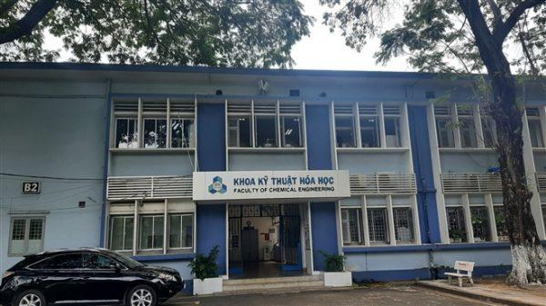 Khoa Kỹ thuật hóa học (ĐH Bách Khoa - ĐHQG TP.HCM).