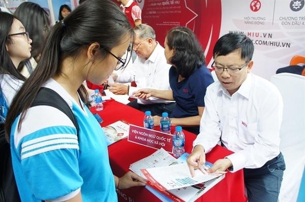 Điểm chuẩn xét học bạ đợt 1 năm 2021 Trường Đại học Quốc tế Hồng Bàng