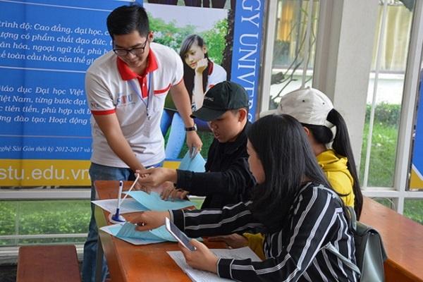 Điểm chuẩn xét học bạ và ĐGNL Trường ĐH Công nghệ Sài Gòn năm 2021