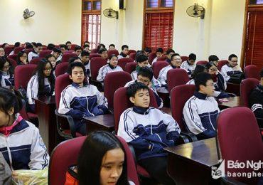 Những gương mặt xuất sắc của đội tuyển học sinh giỏi Trường THPT chuyên Phan Bội Châu