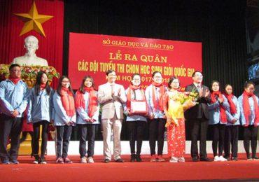 Hà Nội, Hải Phòng dẫn đầu kỳ thi chọn học sinh giỏi quốc gia THPT năm 2018
