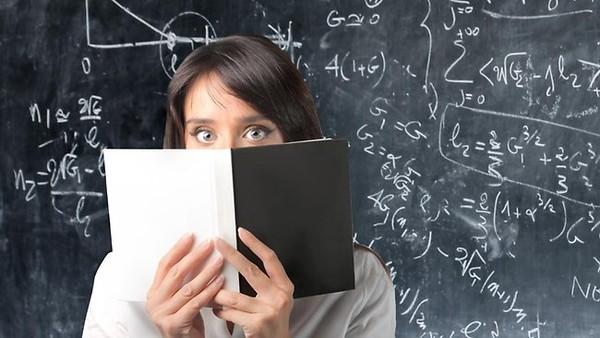 Toán học là nỗi lo sợ của rất nhiều người