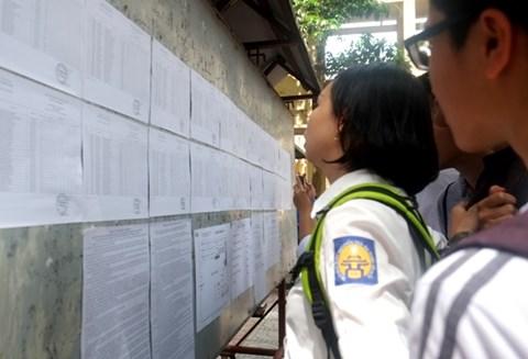 7/7 Bộ GD&ĐT chính thức công bố điểm thi THPT Quốc gia